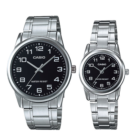 Casio Couple Watch MTPV001D-1B LTPV001D-1B