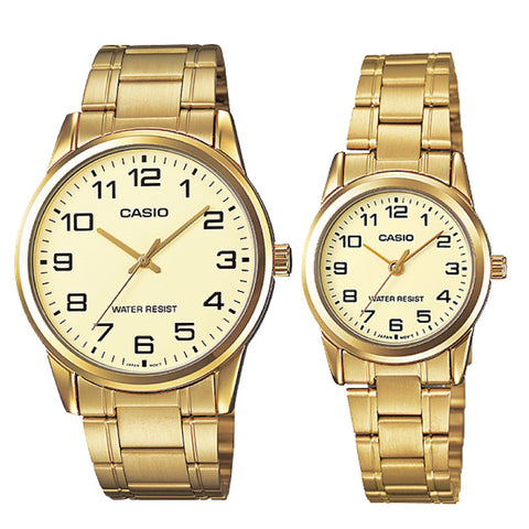 Casio Couple Watch MTPV001G-9B LTPV001G-9B