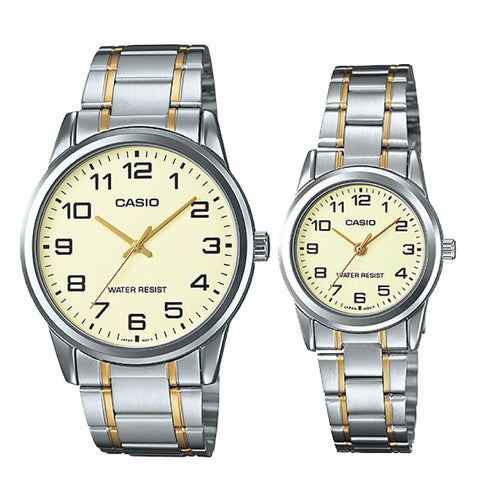 Casio Couple Watch MTPV001SG-9B LTPV001SG-9B