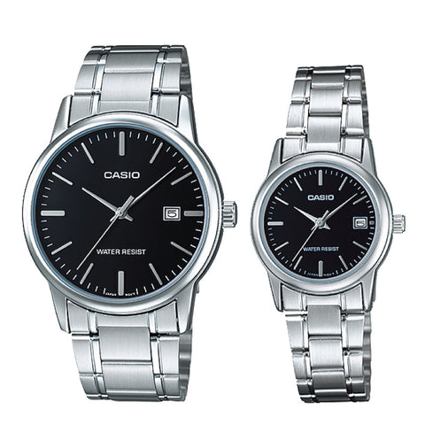 Casio Couple Watch MTPV002D-1A LTPV002D-1A