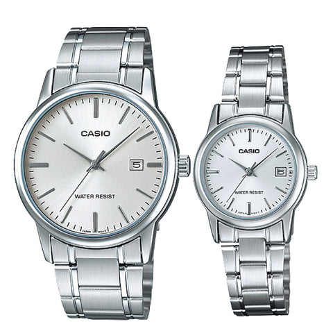 Casio Couple Watch MTPV002D-7A LTPV002D-7A