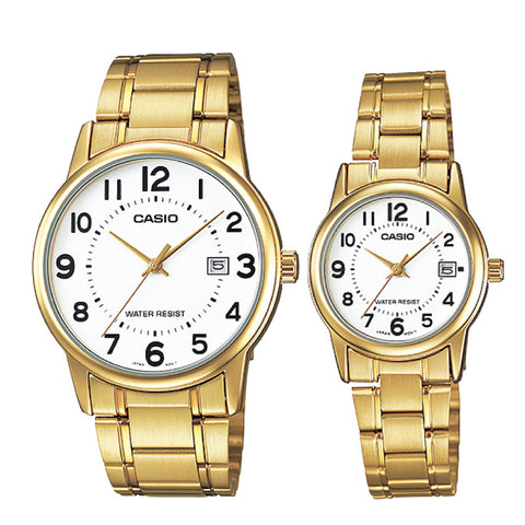 Casio Couple Watch MTPV002G-7B LTPV002G-7B