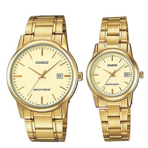 Casio Couple Watch MTPV002G-9A LTPV002G-9A