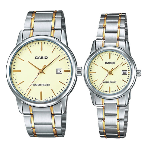 Casio Couple Watch MTPV002SG-9A LTPV002SG-9A