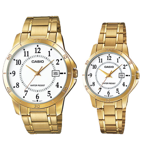 Casio Couple Watch MTPV004G-7B LTPV004G-7B