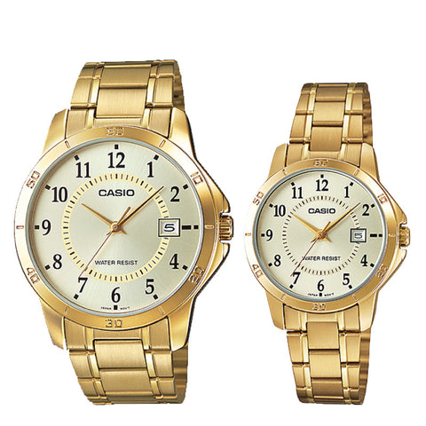 Casio Couple Watch MTPV004G-9B LTPV004G-9B