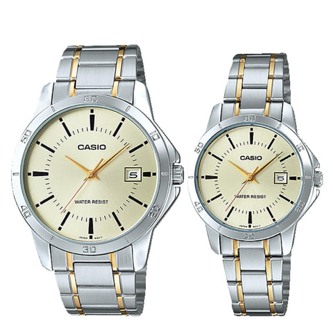 Casio Couple Watch MTPV004SG-9A LTPV004SG-9A