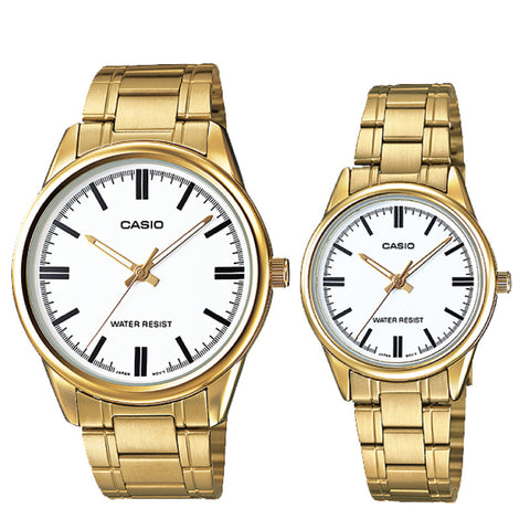Casio Couple Watch MTPV005G-7A LTPV005G-7A