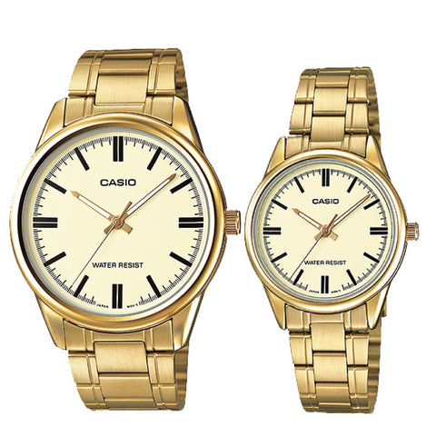 Casio Couple Watch MTPV005G-9A LTPV005G-9A