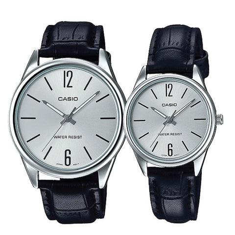 Casio Couple Leather Watch LTPV005L-7B MTPV005L-7B