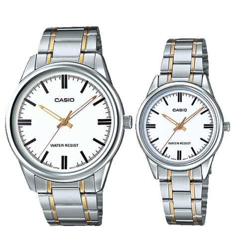 Casio Couple Watch MTPV005SG-7A LTPV005SG-7A