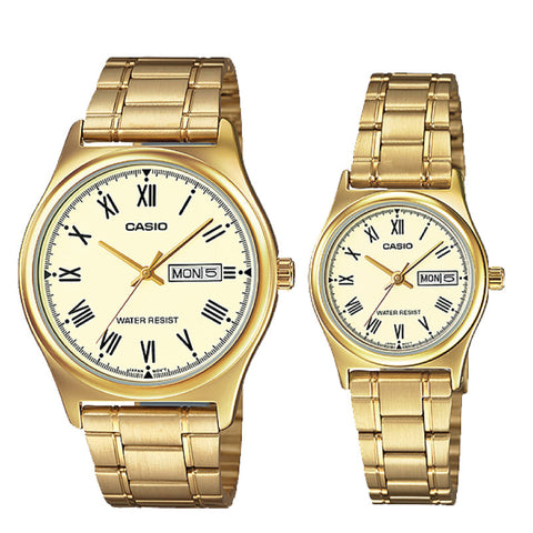 Casio Couple Watch MTPV006G-9B LTPV006G-9B