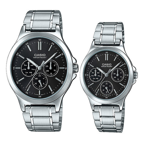 Casio Couple Watch MTPV300D-1A LTPV300D-1A