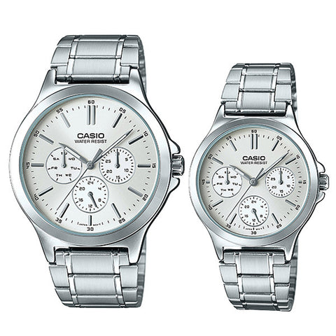 Casio Couple Watch MTPV300D-7A LTPV300D-7A