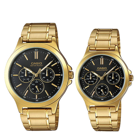 Casio Couple Watch MTPV300G-1A LTPV300G-1A