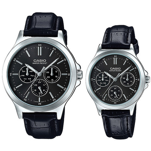 Casio Couple Watch MTPV300L-1A LTPV300L-1A