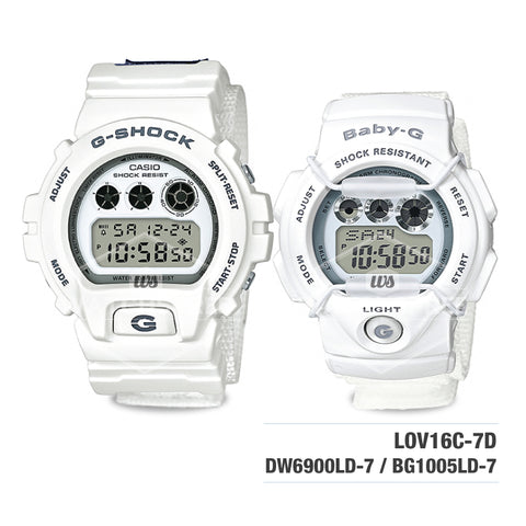 Casio G-Shock & Baby-G G Presents Lover's collection 2016 20th Anniversary Watch LOV16C-7D