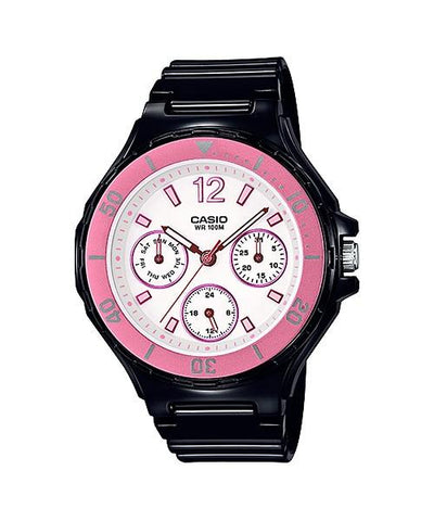 Casio Women's Diver Style Black Resin Band Watch LRW250H-1A3 LRW-250H-1A3