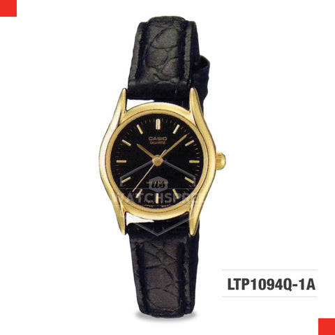 Casio Ladies Watch LTP1094Q-1A