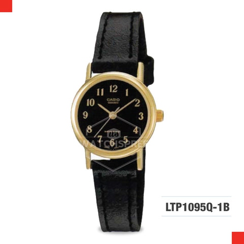Casio Ladies Watch LTP1095Q-1B