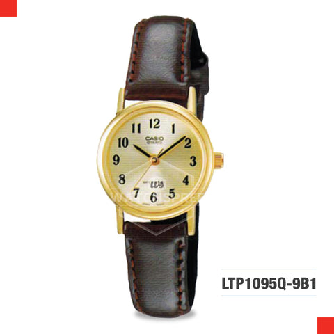 Casio Ladies Watch LTP1095Q-9B1