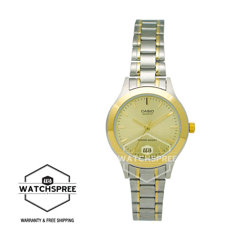 Casio Ladies Watch LTP1128G-9A