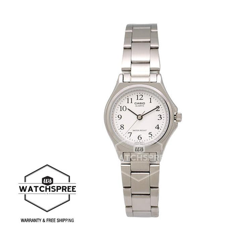 Casio Standard Analog Ladies Stainless Steel Watch LTP1130A-7B