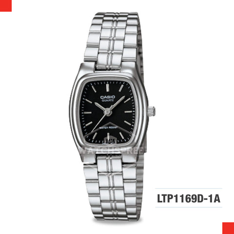 Casio Ladies Watch LTP1169D-1A