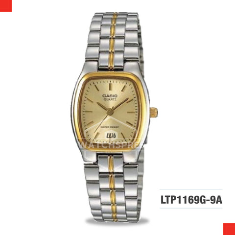 Casio Ladies Watch LTP1169G-9A