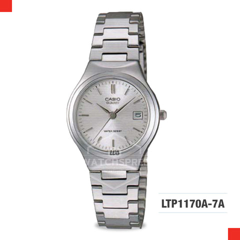 Casio Ladies Watch LTP1170A-7A