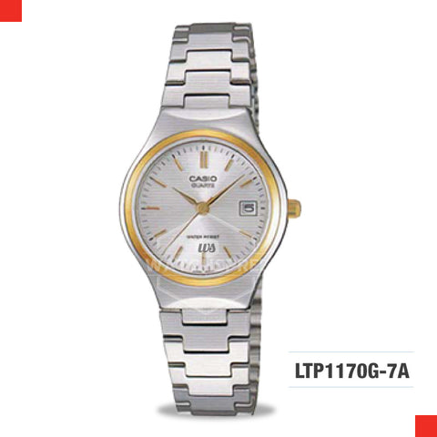 Casio Ladies Watch LTP1170G-7A