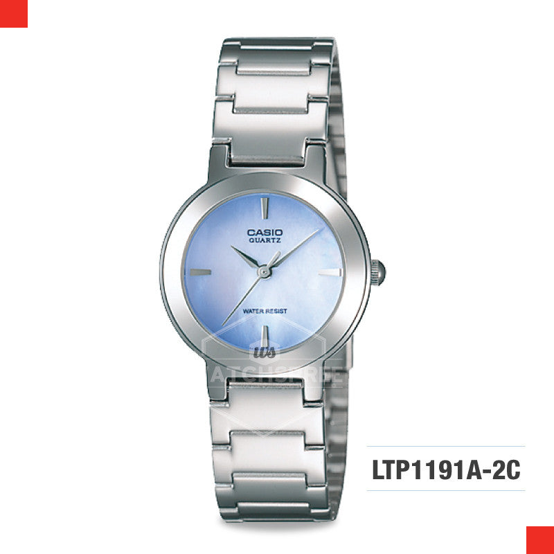 Casio Ladies Watch LTP1191A-2C