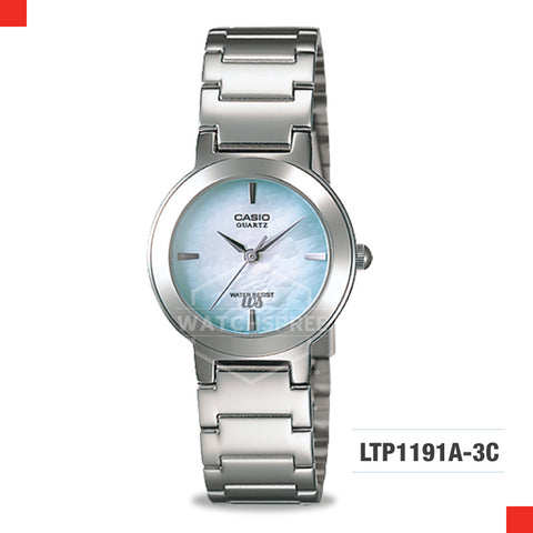 Casio Ladies Watch LTP1191A-3C