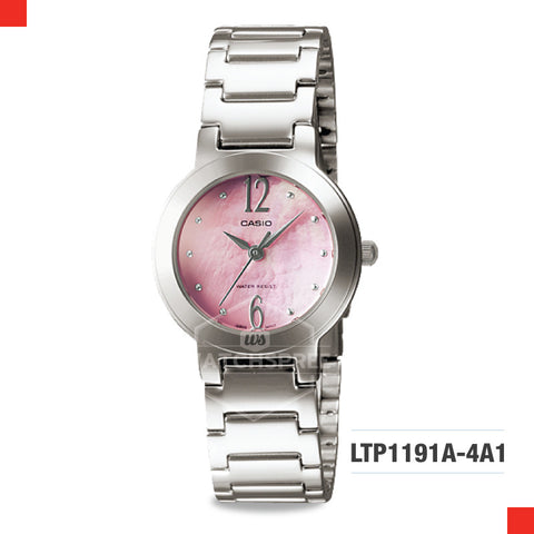 Casio Ladies Watch LTP1191A-4A1