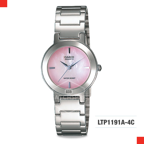 Casio Ladies Watch LTP1191A-4C