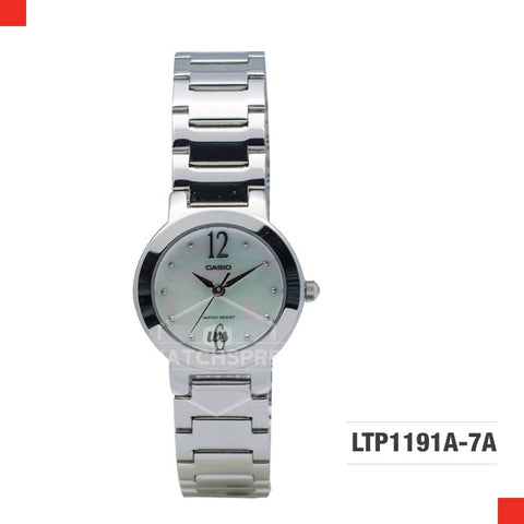 Casio Ladies Watch LTP1191A-7A