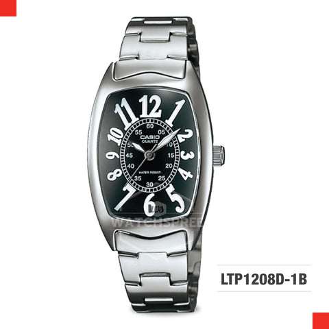 Casio Ladies Watch LTP1208D-1B