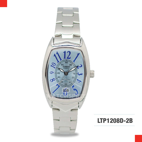 Casio Ladies Watch LTP1208D-2B