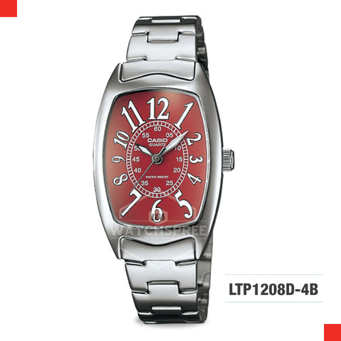 Casio Ladies Watch LTP1208D-4B