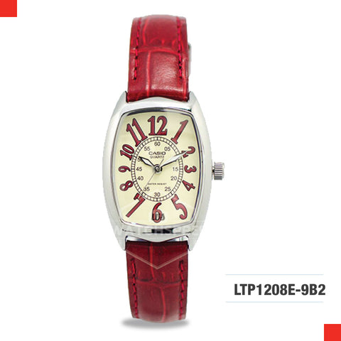 Casio Ladies Watch LTP1208E-9B2