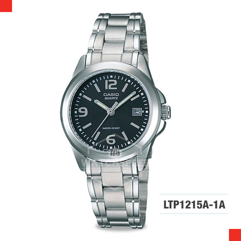 Casio Ladies Watch LTP1215A-1A