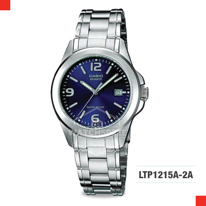 Casio Ladies Watch LTP1215A-2A