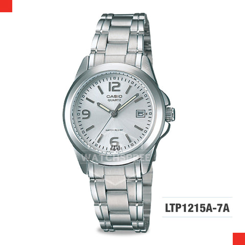 Casio Ladies Watch LTP1215A-7A