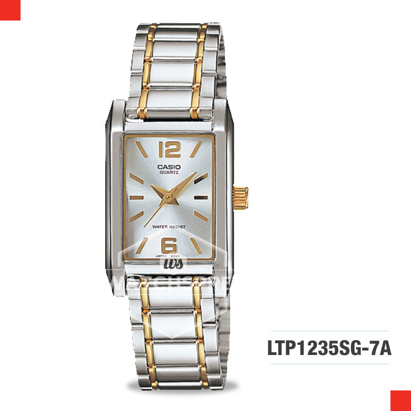 Casio Ladies Watch LTP1235SG-7A