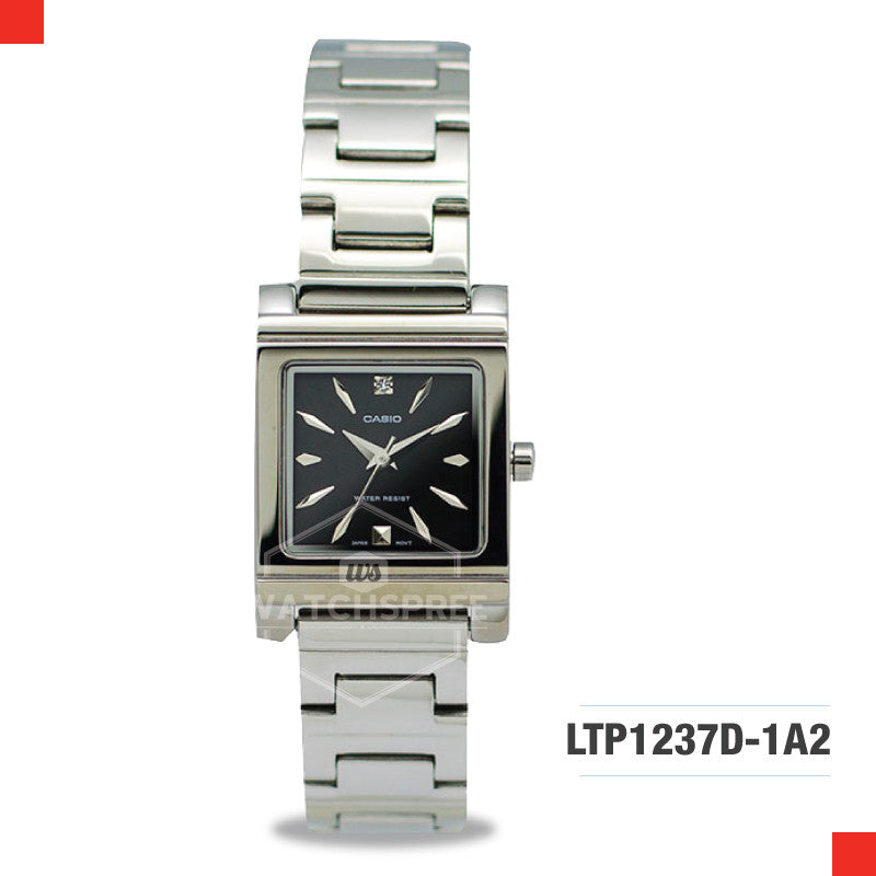 Casio Ladies Watch LTP1237D-1A2