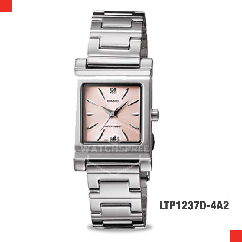 Casio Ladies Watch LTP1237D-4A2