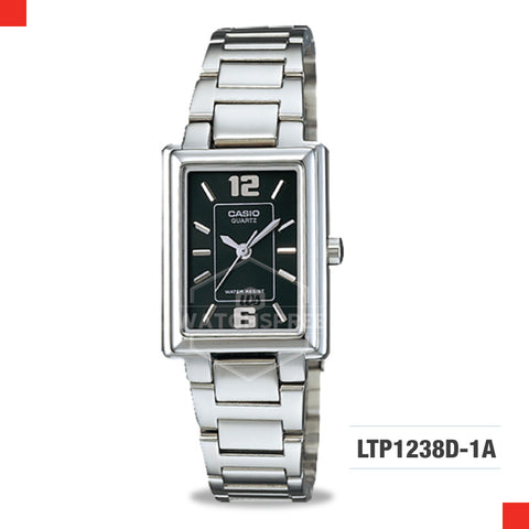 Casio Ladies Watch LTP1238D-1A
