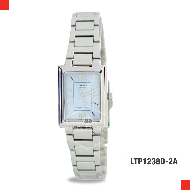 Casio Ladies Watch LTP1238D-2A