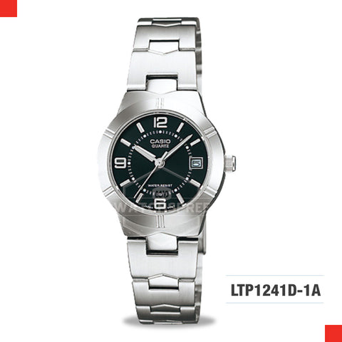 Casio Ladies Watch LTP1241D-1A