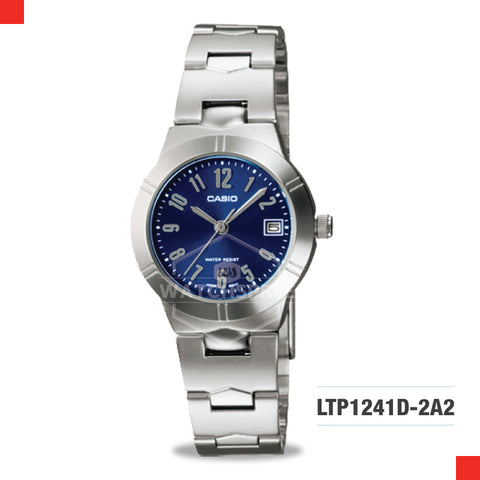 Casio Ladies Watch LTP1241D-2A2